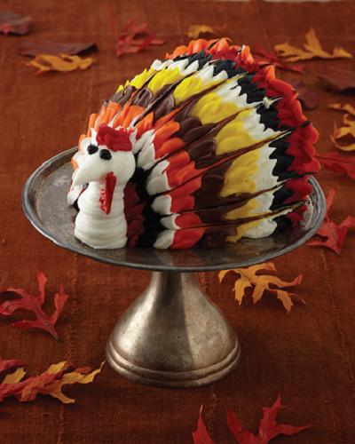 Baking with the Cake Boss: Thanksgiving Turkey Cake - Mom in the City
