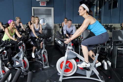 Fitness Workout Flywheel Spin Class