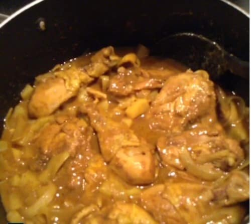 Easy jamaican curried chicken recipe mom in the city forumfinder Images