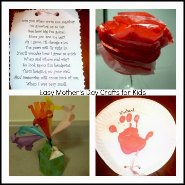 5 Mother's Day Craft Ideas For Kids