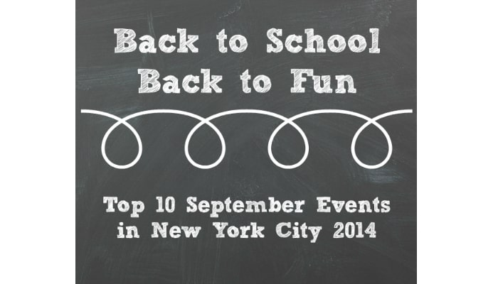 Top September Events in New York City (For Moms with Grade-School Sons)