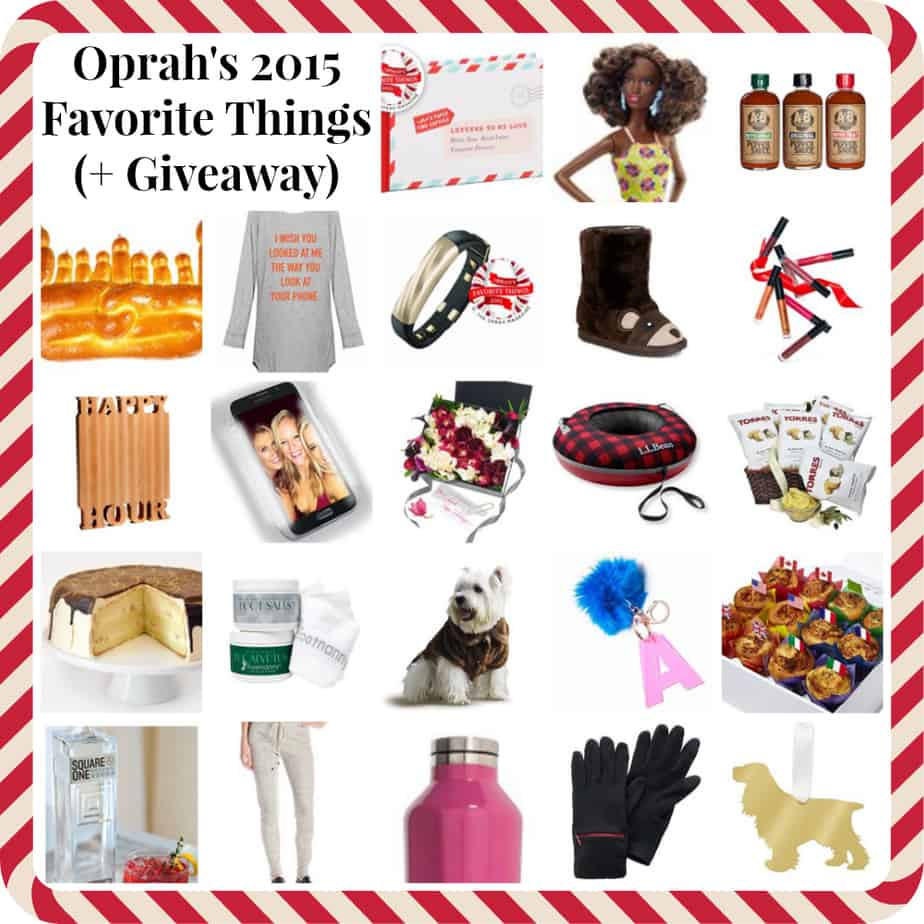 Oprah's Favorite Things 2015 List (Plus a Giveaway!)