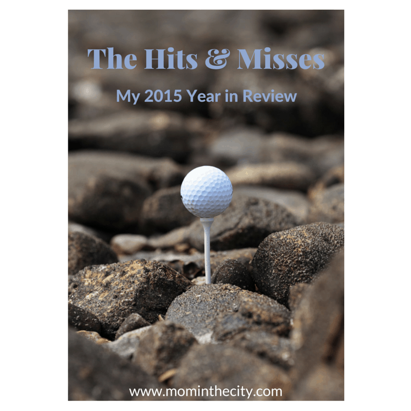 The Hits and Misses: My 2015 Year in Review