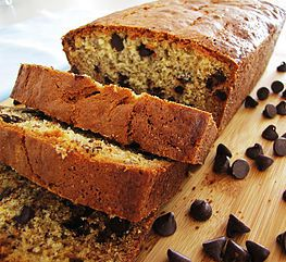 Easy Chocolate Chip Banana Bread Recipe