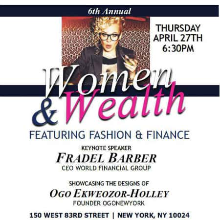 Women & Wealth NY: An Evening of Finance and Fashion