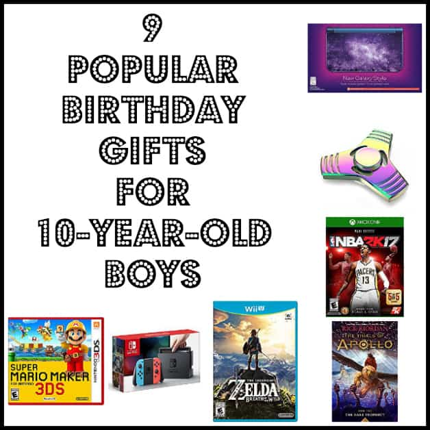9 Popular Birthday Gifts For 10-Year-Old Boys (Books