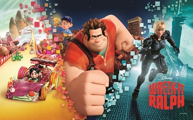 Wreck It Ralph Animation Movie 4k Hd Desktop Wallpaper For: Wreck-It Ralph Coloring Pages