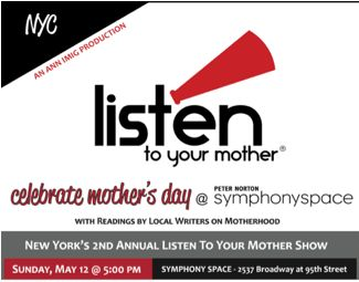 Listen to Your Mother NYC giveaway