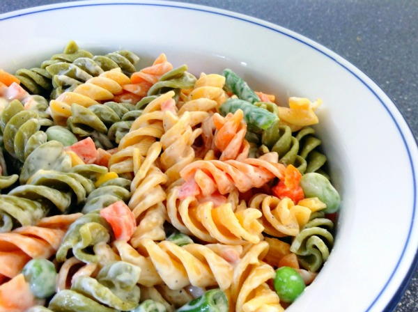 pasta salad recipes - easy hidden valley ranch pasta primavera recipe
