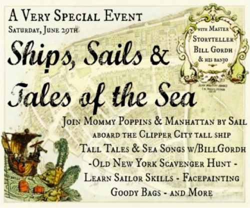Ships, Sails and Tales of the Sea
