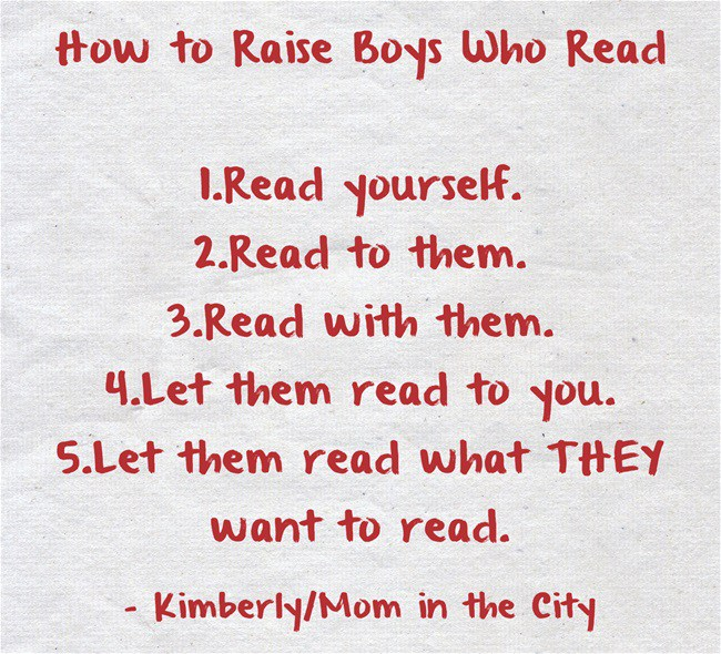 How to Raise Boys Who Love Reading
