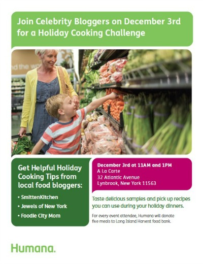 humana healthy holiday cooking challenge