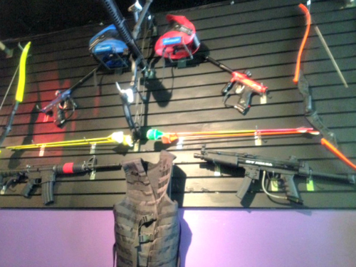 indoor extreme sports laser tag