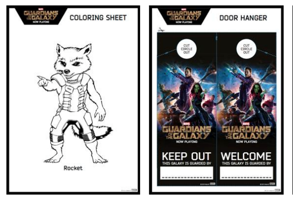 12 Guardians Of The Galaxy Coloring Pages More