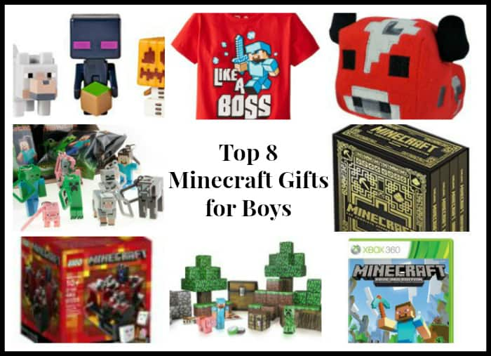 Top 8 Minecraft Gifts for Boys