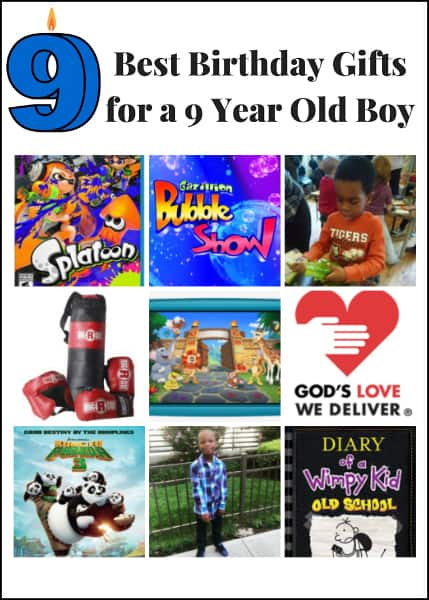 Sean, my youngest son, is turning 9 this month. In this post, I share the 9 best birthday gifts for a 9 year old boy - books, charitable gifts, games & more.