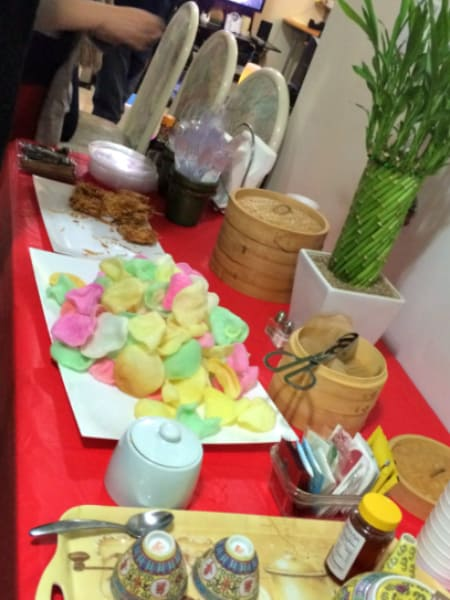 part of the chinese new year buffet