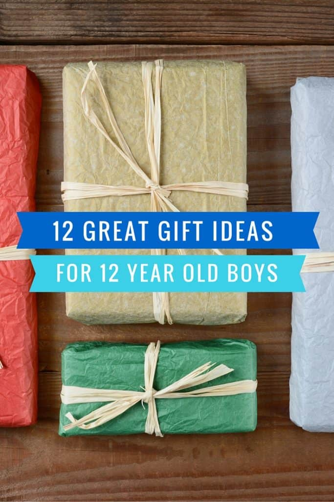 12 Great Gift Ideas for a 12 Year Old Boy (video games, books, experiences & more)