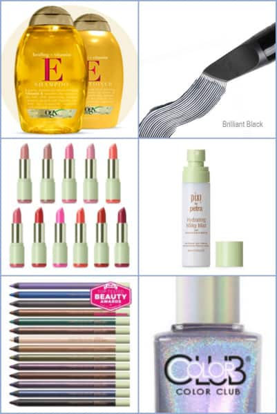 caravan of the best 2016 spring beauty products - hair, skin, nail and makeup picks; Caravan Stylist Studio showcased some of the Best 2016 Spring Beauty Products at a recent pre-Mother's Day pampering event. These are the highlights.