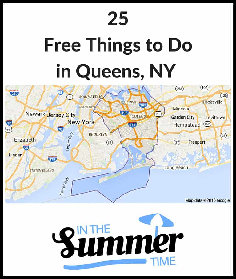 25 Free Things to Do in Queens NY in the Summer - concerts, movies, festivals, fitness, nature activities, fitness and more.