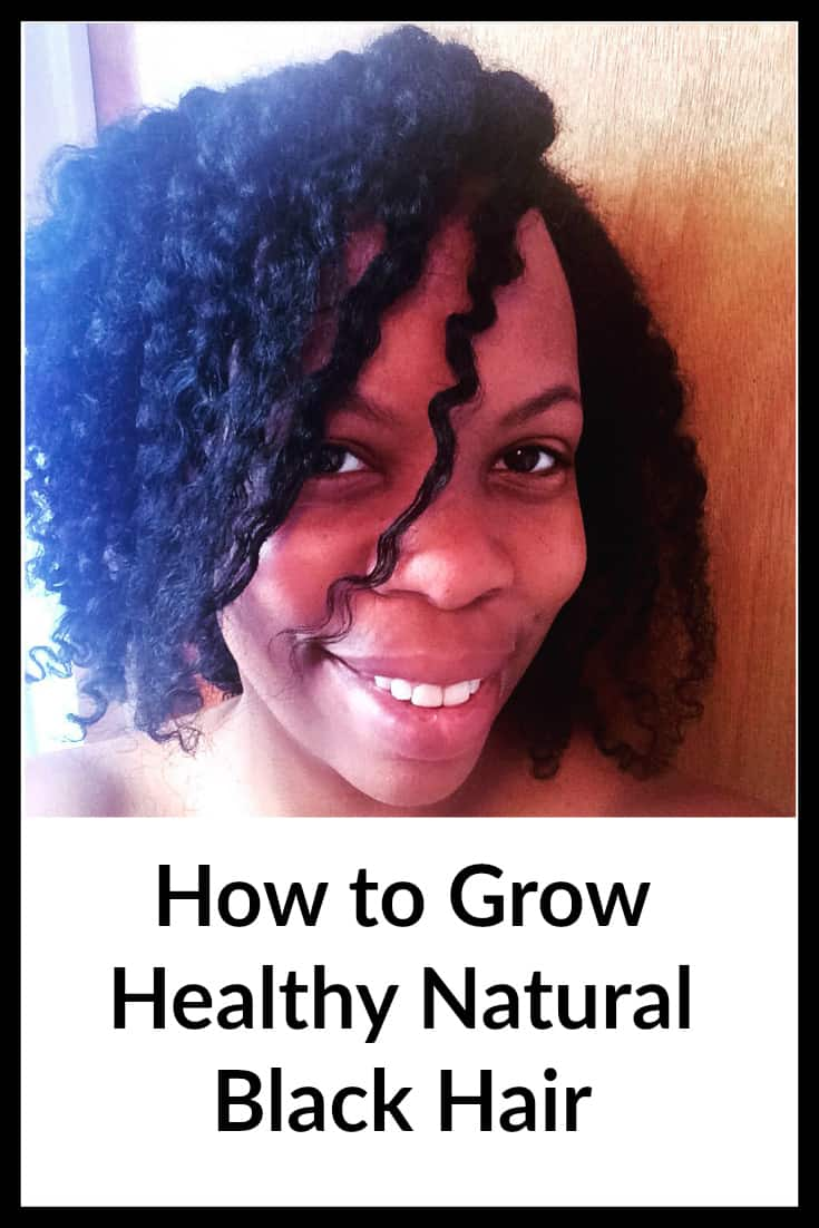 How to Grow Healthy Natural Black Hair - tips from my hair stylist Shanelle
