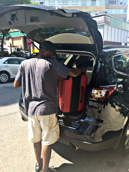 Riding in Cars with Boys (2016 Chevrolet Traverse Review) - Safety and (personal) space were the main two features that I appreciated during a test drive to Virginia.