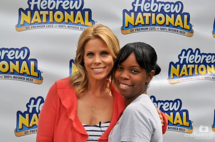 2010 photo of Cheryl Hines & I at a picnic that I was co-hostessing