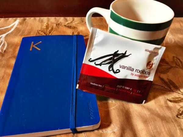 Morning Routine- Tea and Journals
