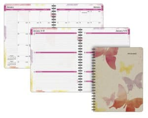12 month weekly/monthly planner