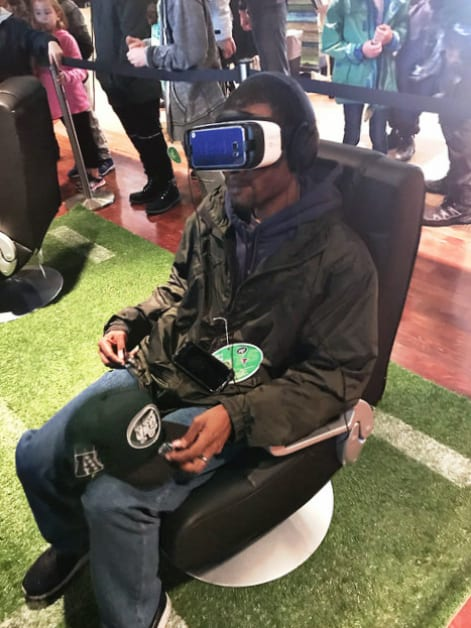 Jets Sharp Lounge VR Experience