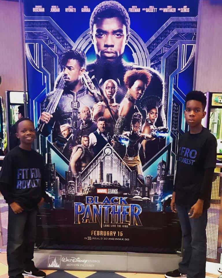 black panther movie review by the Colemans