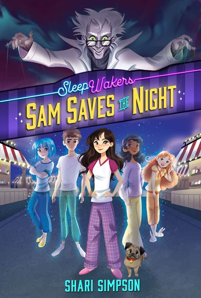 young adult fantasy series SleepWakers