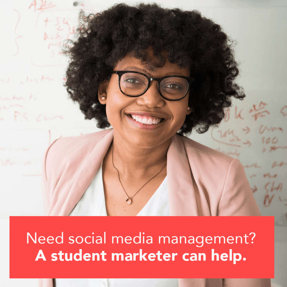 how to find a marketing intern