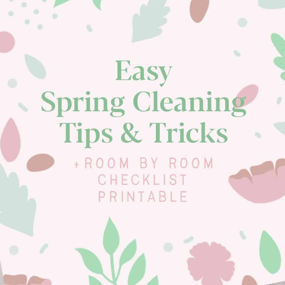 Spring Cleaning Checklist Printable - How To Deep Clean Your Home
