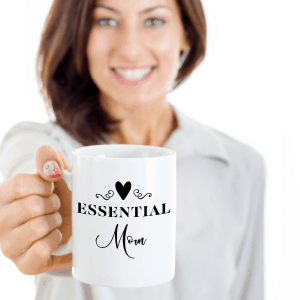 essential worker mother's day mug