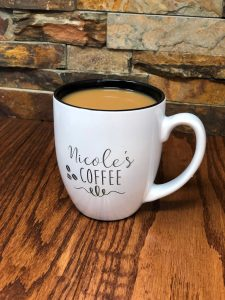personalized name mother's day mug