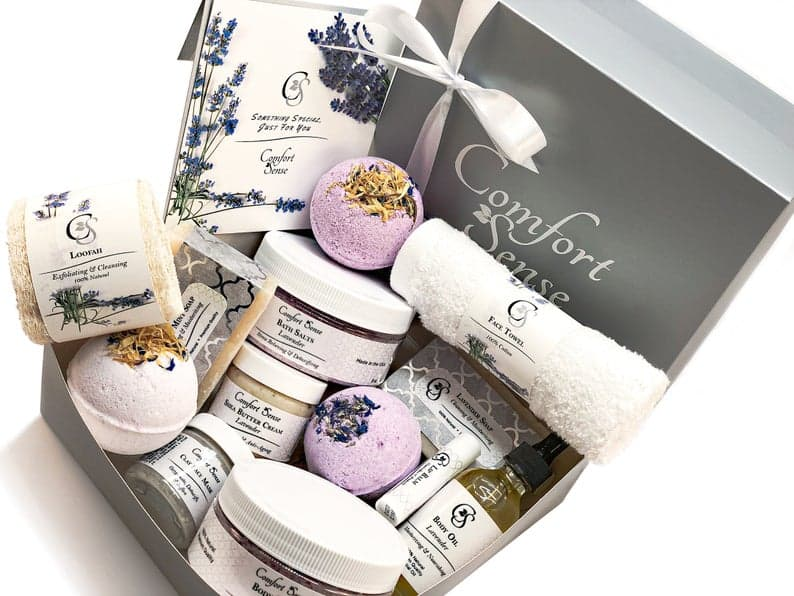 spa gift box for Mother's Day 2020