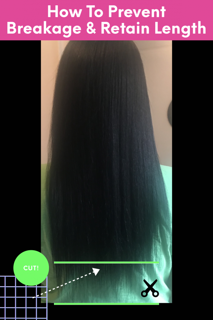 How To Prevent Breakage And Retain Length In Natural Black Hair