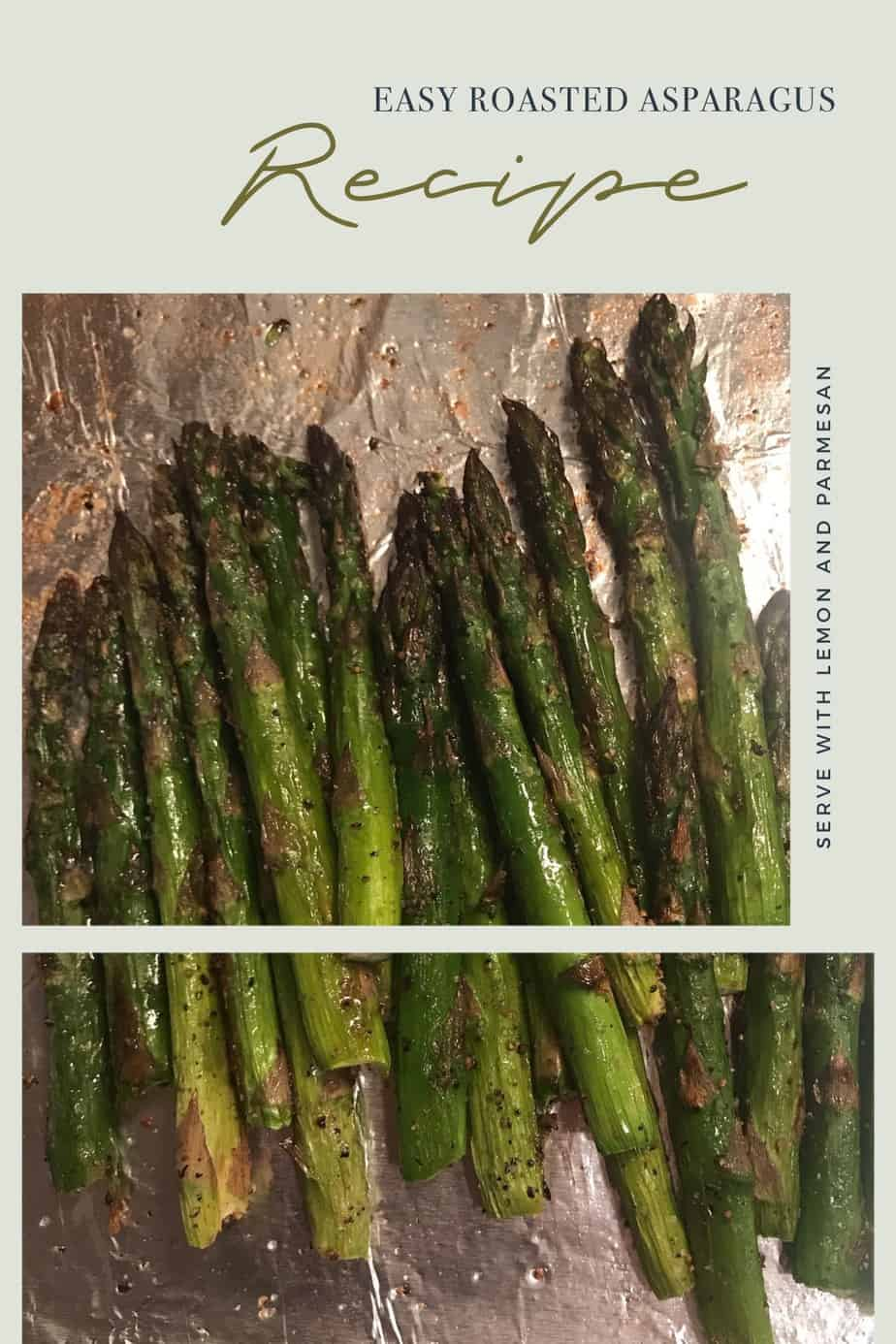 Easy Roasted Asparagus Recipe With Lemon and Parmesan