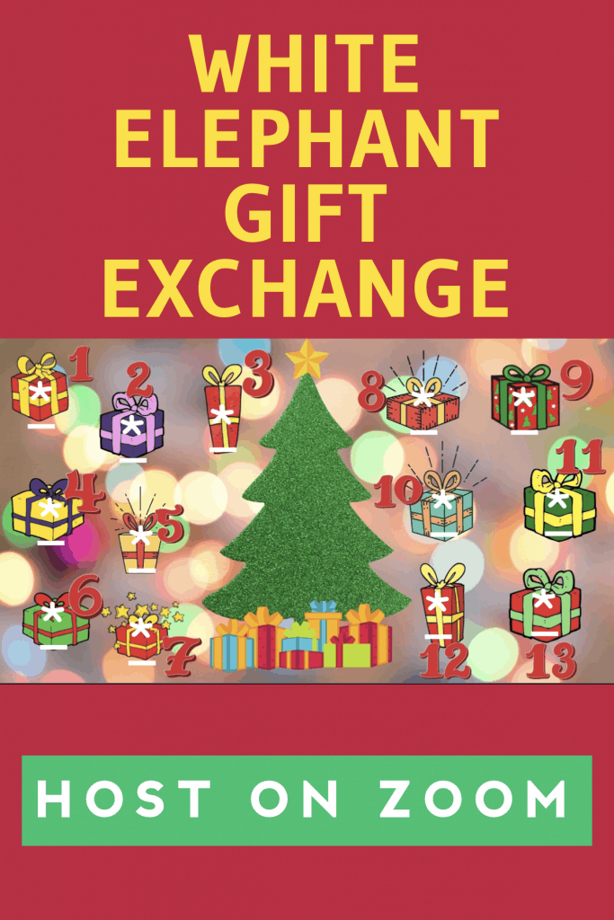 2 New Ways To Host a White Elephant Gift Exchange on Zoom