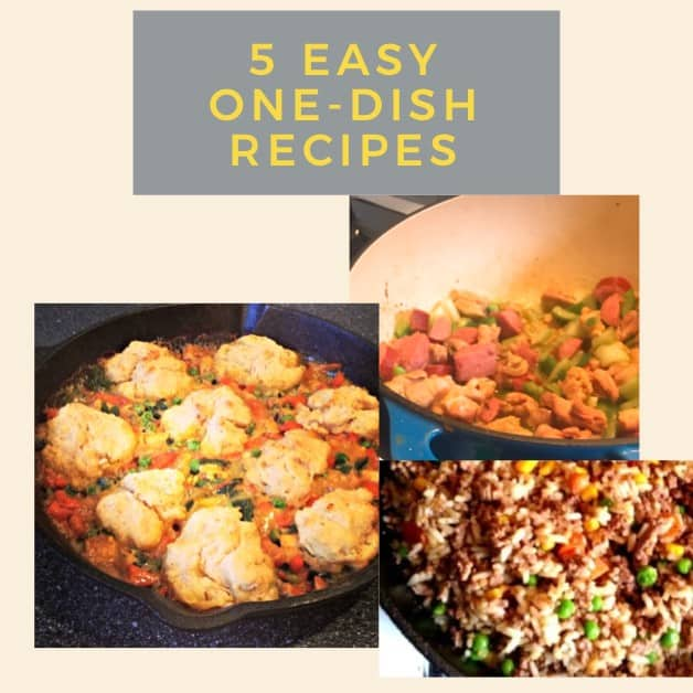 Recipes for one-dish meals  - Easy One Dish Meals