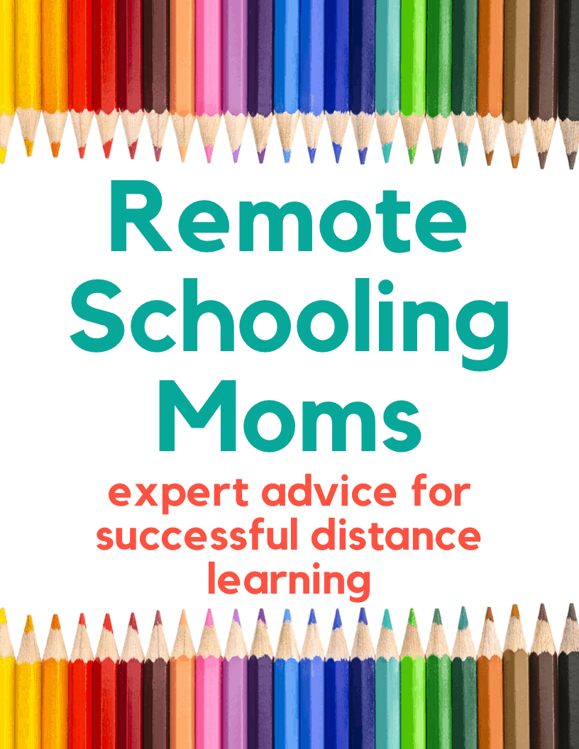 Remote Schooling Moms: Expert Advice for Succesful Distance Learning - FREE 50-page eBook