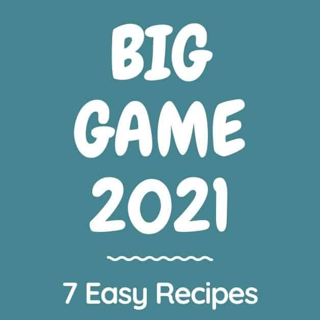 Ideas for Game Day Food