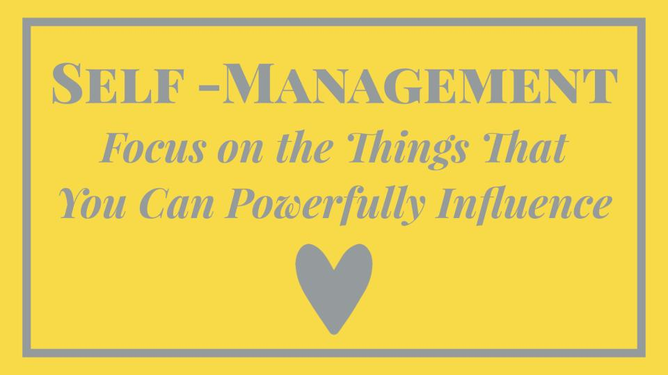 Essential Self-Management Skills That Will Help You Focus