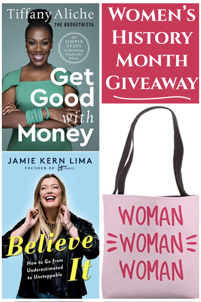 Women and Money Mindset: Women's History Month 2021 Giveaway