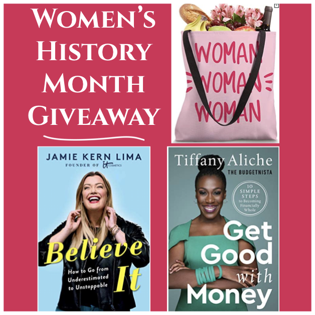 Women's History Month 2021 Giveaway (Theme: Mindset & Money)