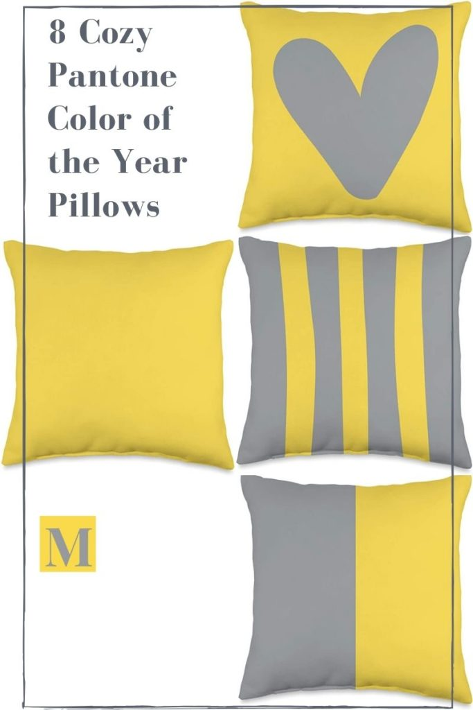 New Indoor Spring Throw Pillows 2021 (Pantone Color of the Year Picks That You'll Love!)