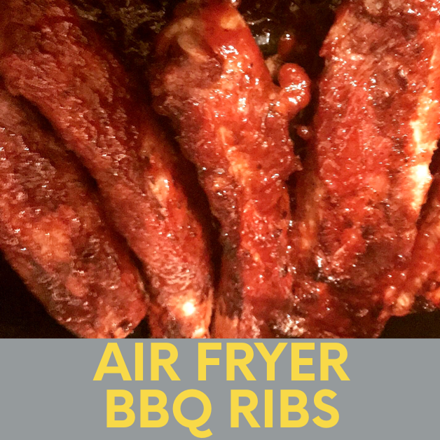 Easy Air Fryer Ribs (How to Make Delicious BBQ Ribs in the Air Fryer)