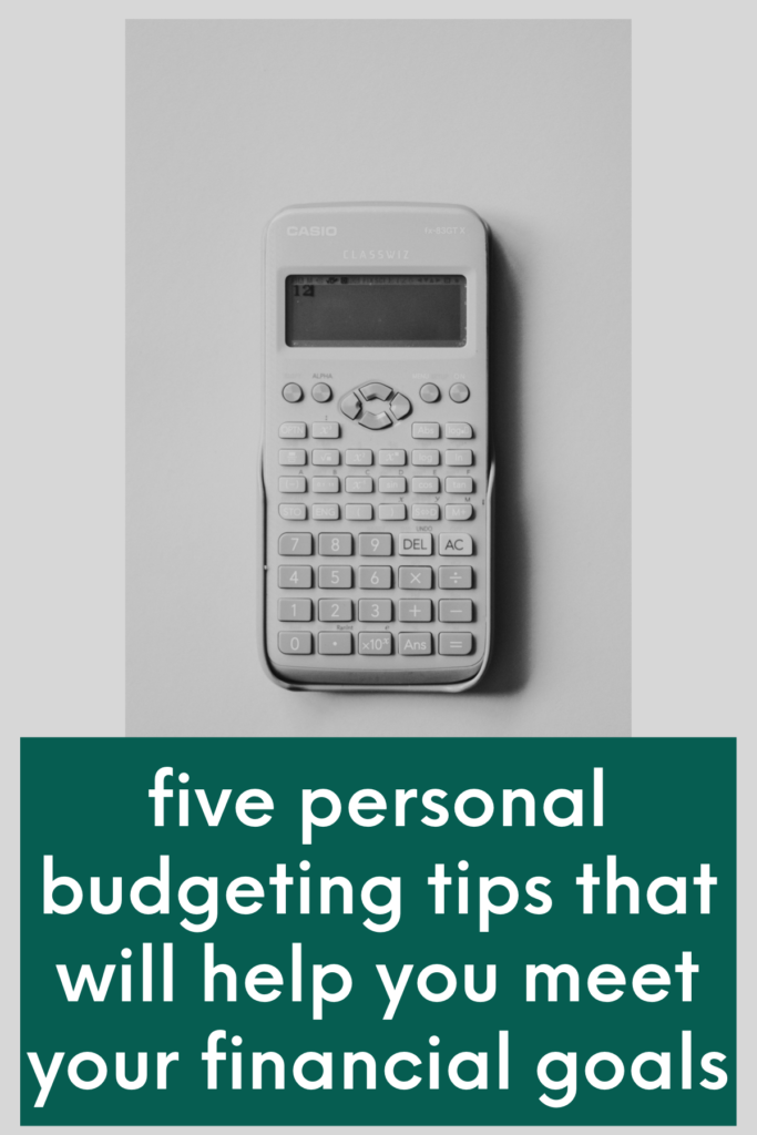 personal budgeting tips pinterest