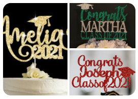 Graduation Cake toppers 2021